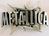 Metallica - Logo / Ninja Star Buckle